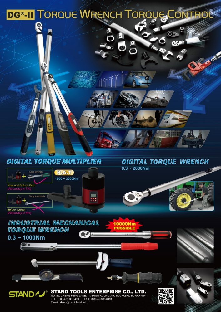 Guidebook to Taiwan Hand Tools STAND TOOLS ENTERPRISE CO., LTD.