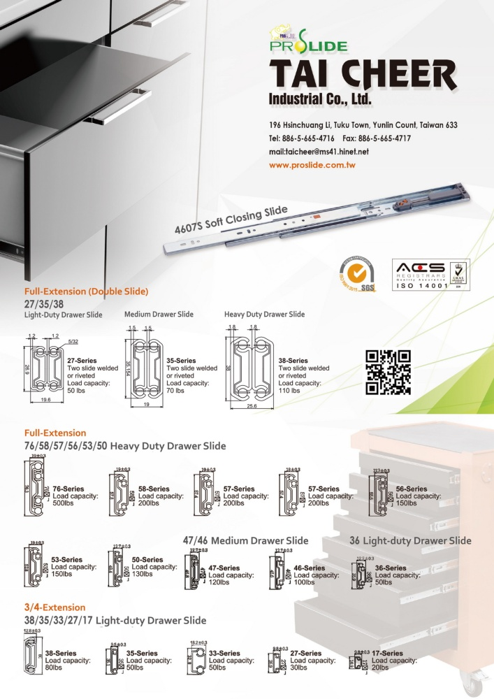 Guidebook to Taiwan Hand Tools TAI CHEER INDUSTRIAL CO., LTD.