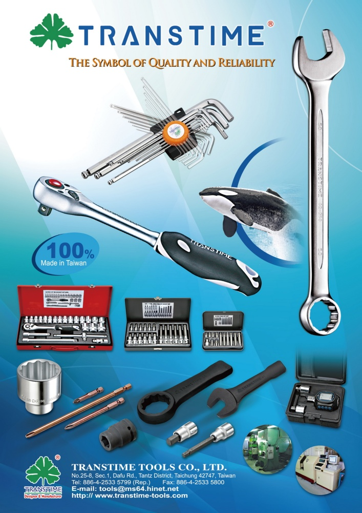 Guidebook to Taiwan Hand Tools TRANSTIME TOOLS CO., LTD.