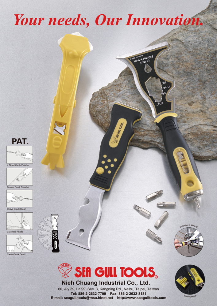 Guidebook to Taiwan Hand Tools NIEH CHUANG INDUSTRIAL CO., LTD.
