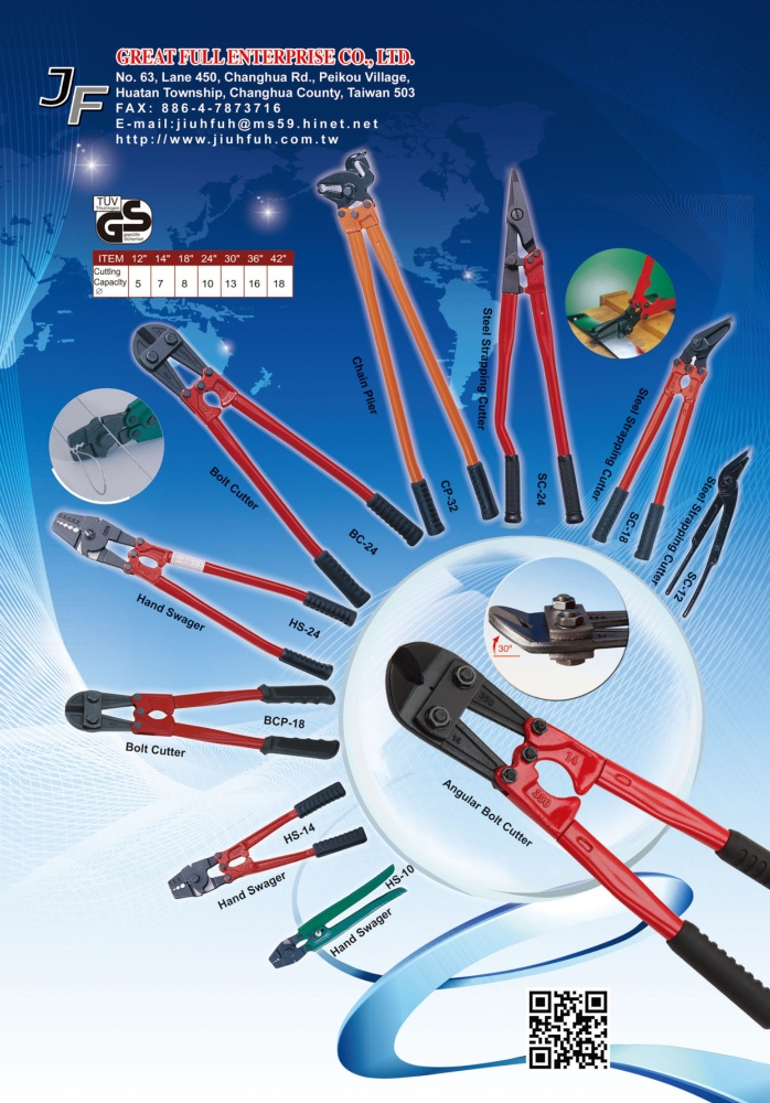 Taiwan Hand Tools GREAT FULL ENTERPRISE CO., LTD.