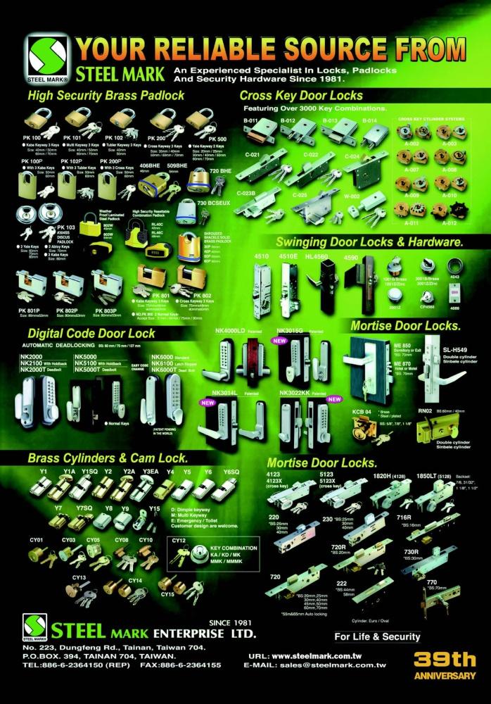 Taiwan Hand Tools STEEL MARK ENTERPRISE LTD.
