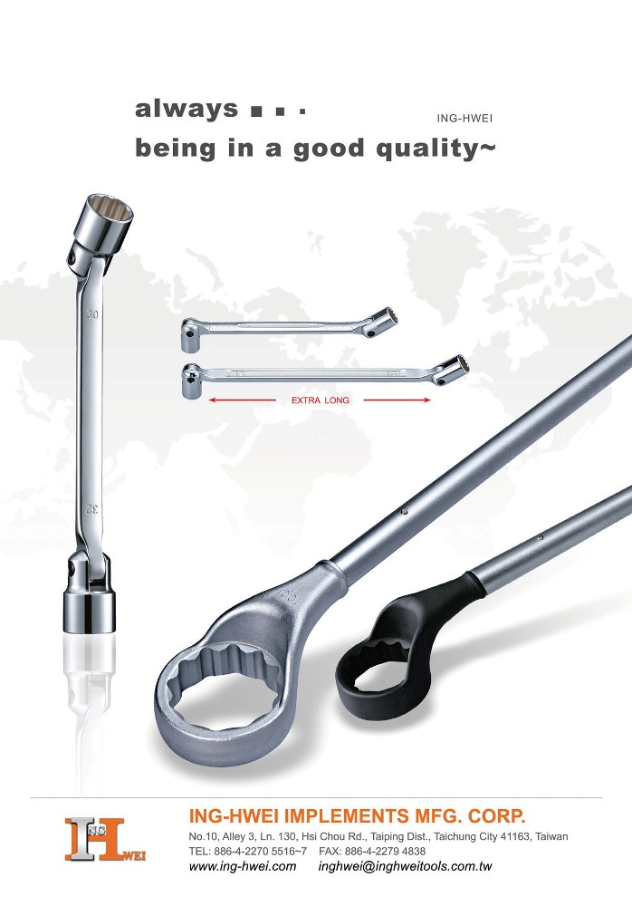 Taiwan Hand Tools ING-HWEI IMPLEMENTS MFG. CORP.