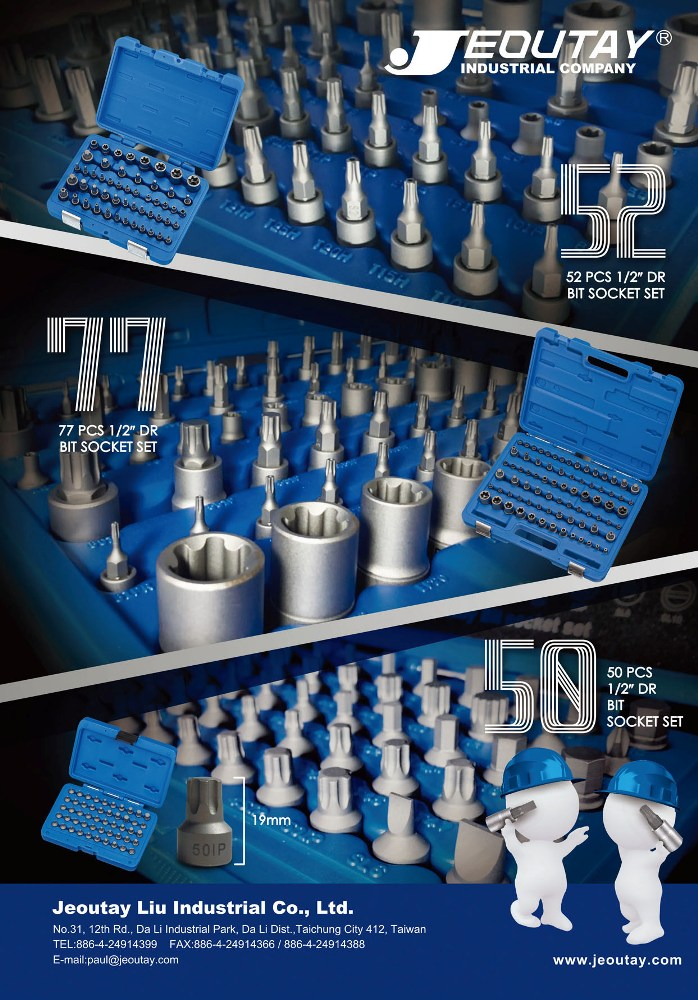 Taiwan Hand Tools JEOUTAY LIU INDUSTRIAL CO., LTD.