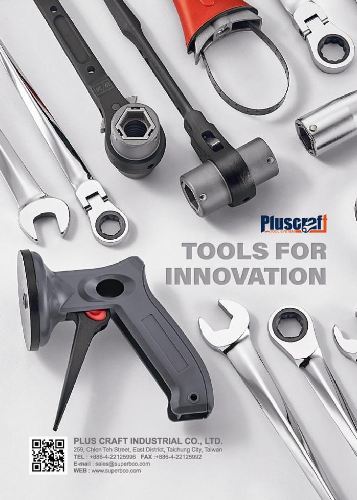 Taiwan Hand Tools PLUS CRAFT INDUSTRIAL CO., LTD.