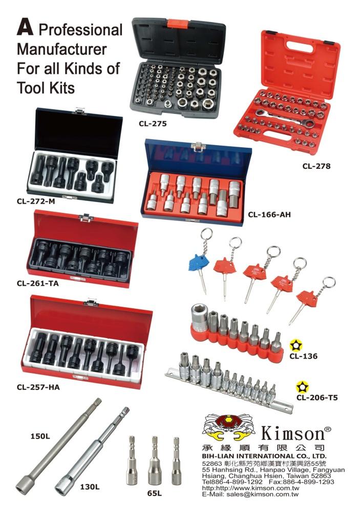 Taiwan Hand Tools BIH-LIAN INTERNATIONAL CO., LTD.