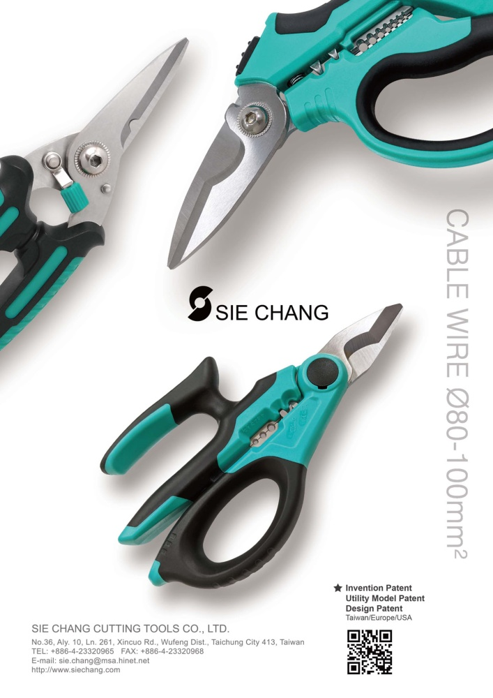 Taiwan Hand Tools SIE CHANG CUTTING TOOLS CO., LTD.