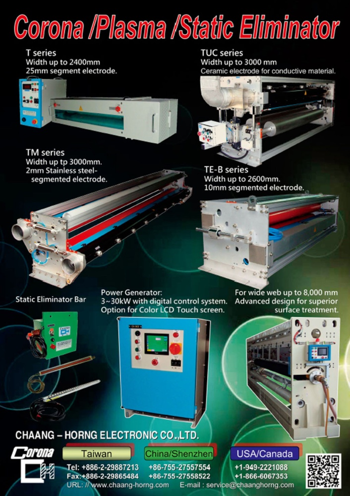 Taiwan Machinery CHAANG-HORNG ELECTRONIC CO., LTD.