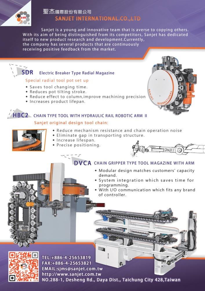 Taiwan Machinery SANJET INTERNATIONAL CO., LTD.