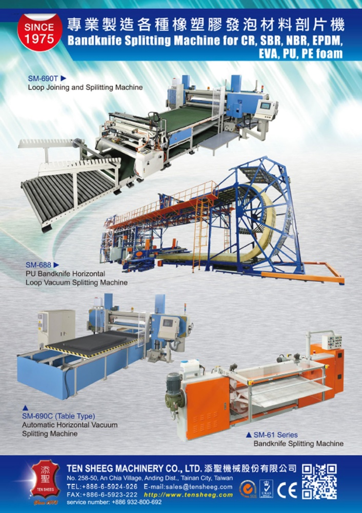 Taiwan Machinery TEN SHEEG MACHINERY CO., LTD.
