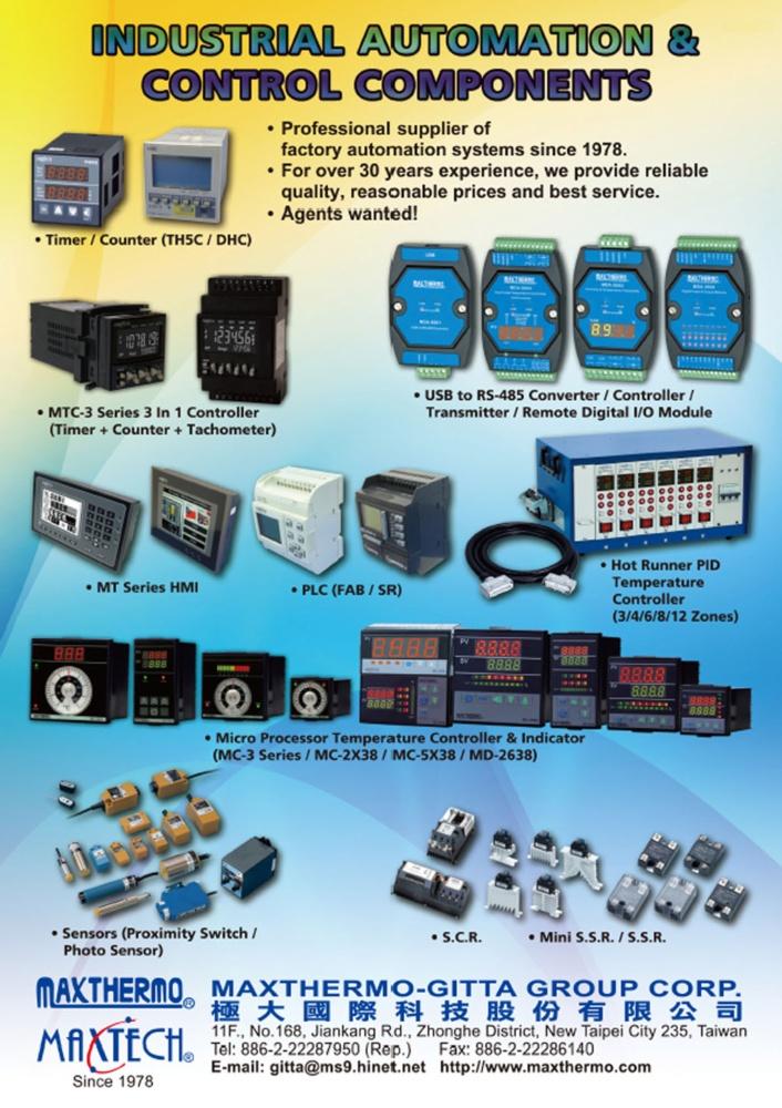 Taiwan Machinery MAXTHERMO-GITTA GROUP CORP.