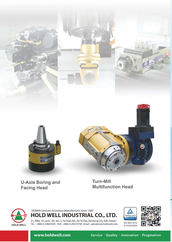 Taiwan Machinery HOLD WELL INDUSTRIAL CO., LTD.