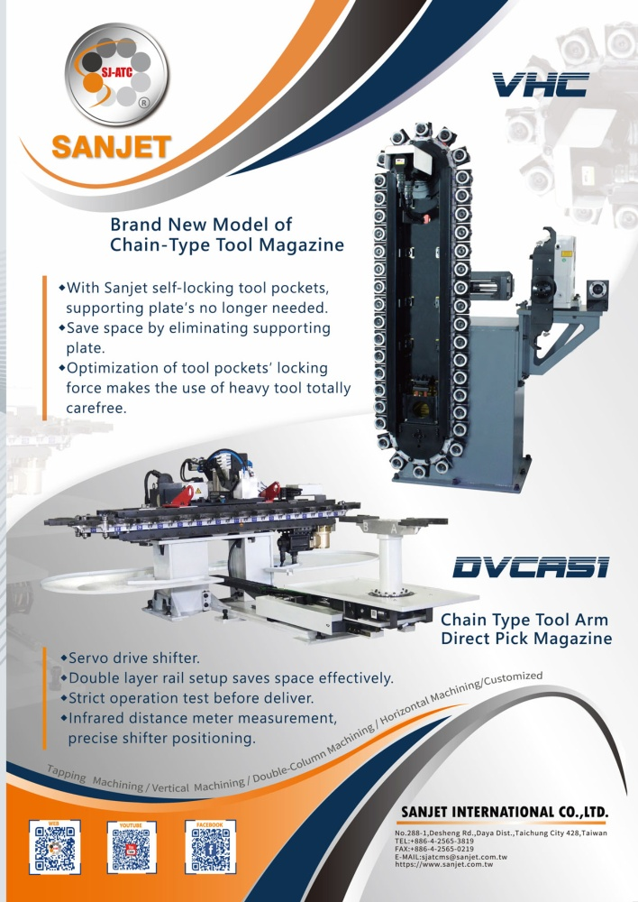 SANJET INTERNATIONAL CO., LTD.