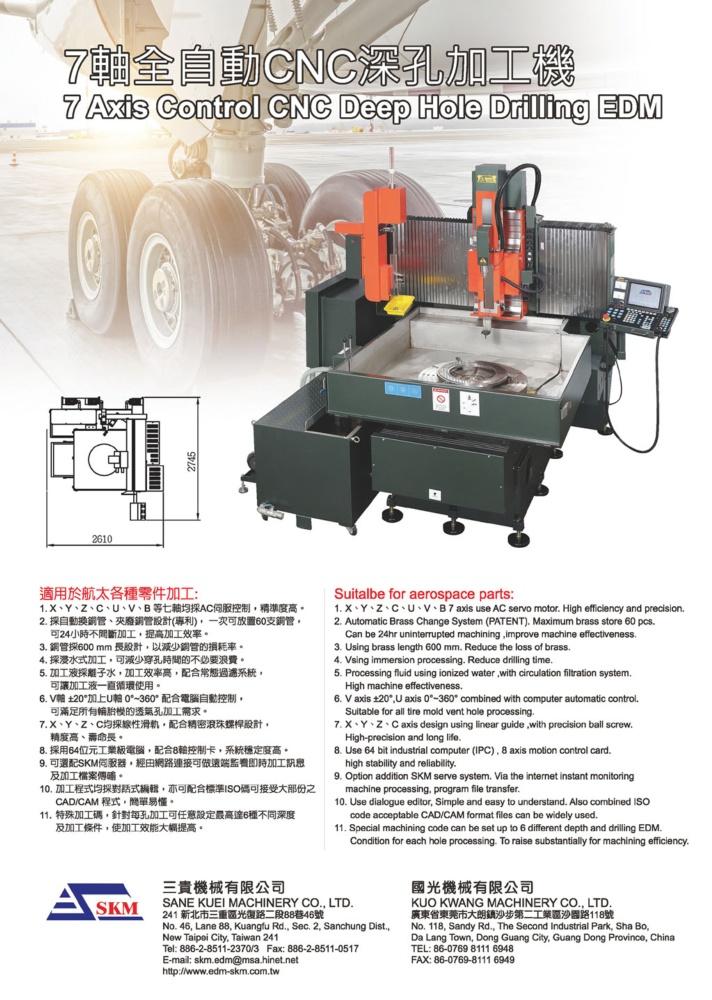 Who Makes Machinery in Taiwan SANE KUEI MACHINERY CO., LTD.
