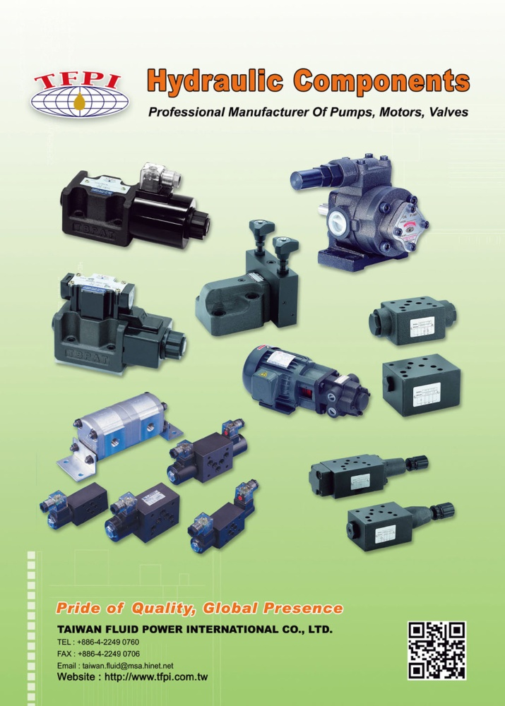 Who Makes Machinery in Taiwan TAIWAN FLUID POWER INTERNATIONAL CO., LTD.