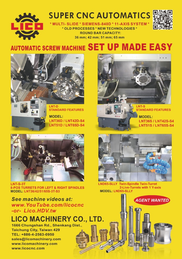 LICO MACHINERY CO., LTD.