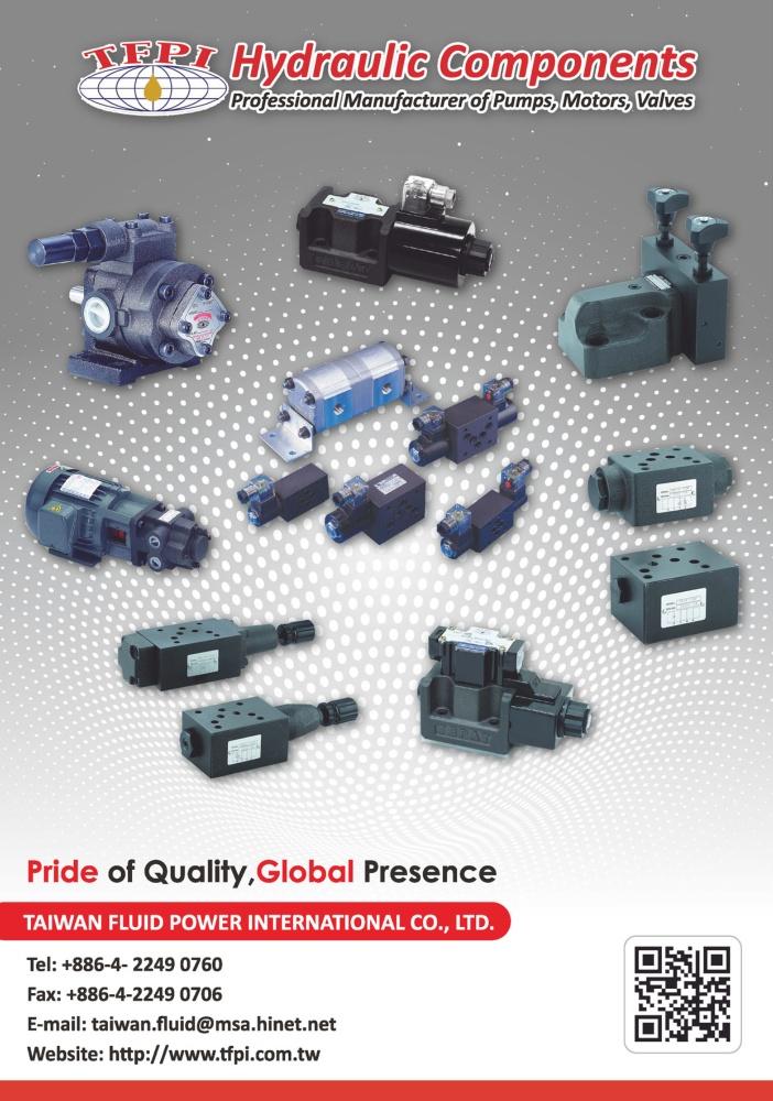 Who Makes Machinery in Taiwan TAIWAN FLUID POWER INTERNATIONAL CO., LTD.