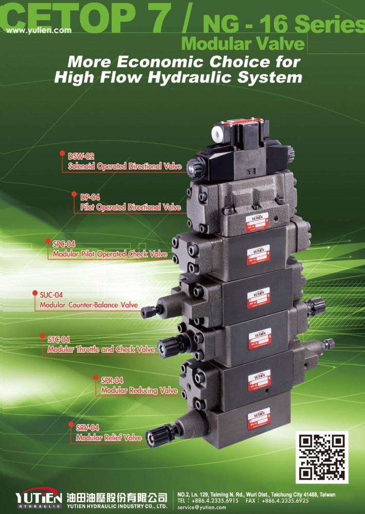 Who Makes Machinery in Taiwan YUTIEN HYDRAULIC INDUSTRY CO., LTD.