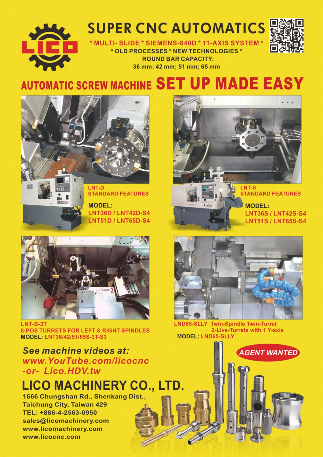 Who Makes Machinery in Taiwan LICO MACHINERY CO., LTD.