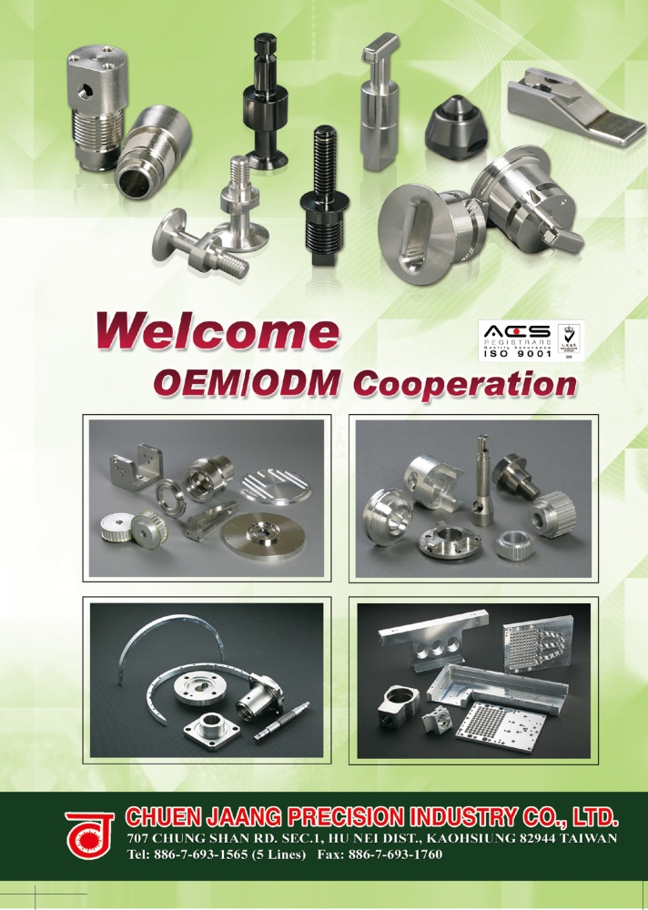 Taiwan International Fastener Show CHUEN JAANG PRECISION INDUSTRY CO., LTD.