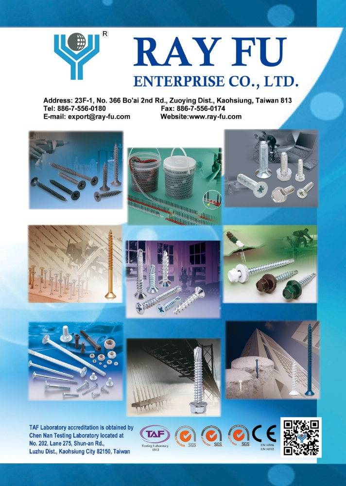 Taiwan International Fastener Show RAY FU ENTERPRISE CO., LTD.