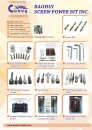 Cens.com Taiwan Industrial Suppliers AD BAOHUI SCREW POWER BIT INC.