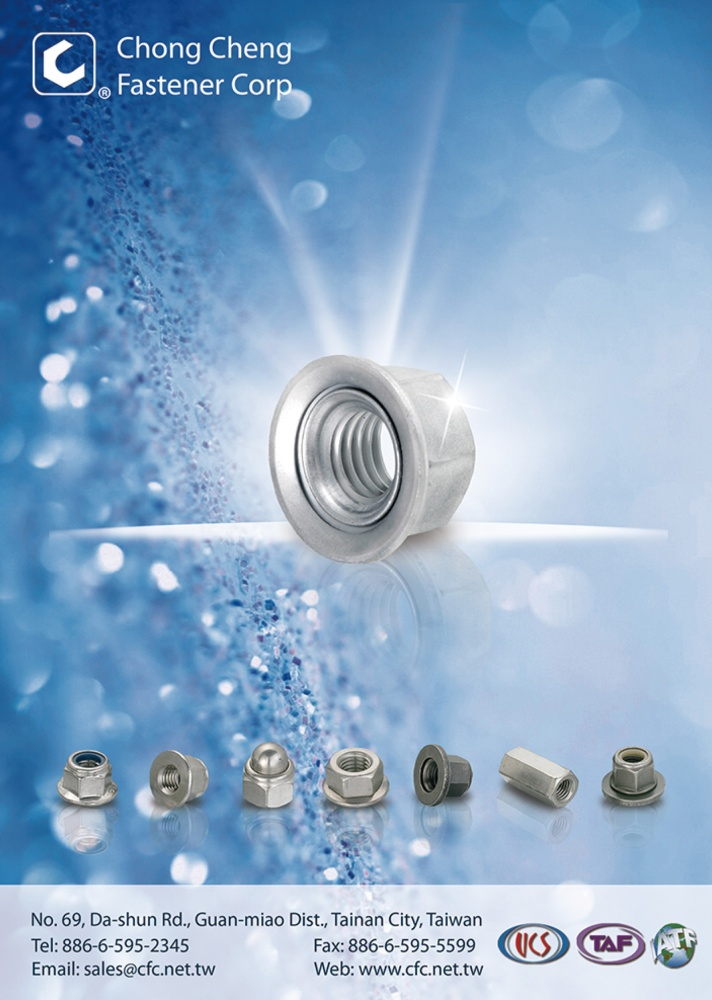 Taiwan Industrial Suppliers CHONG CHENG FASTENER CORP.