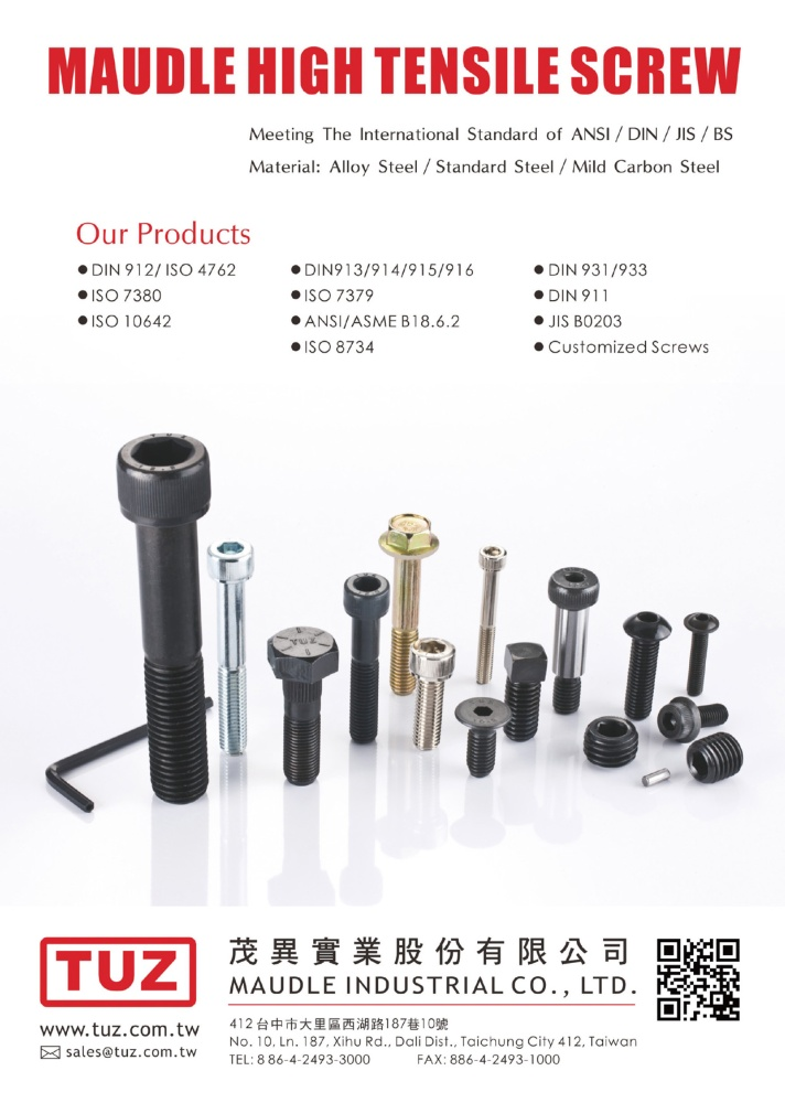 Taiwan Industrial Suppliers MAUDLE INDUSTRIAL CO., LTD.