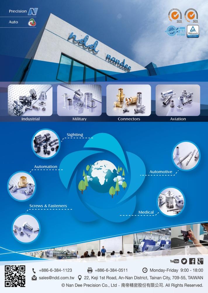Taiwan Industrial Suppliers NAN DEE PRECISION CO., LTD.