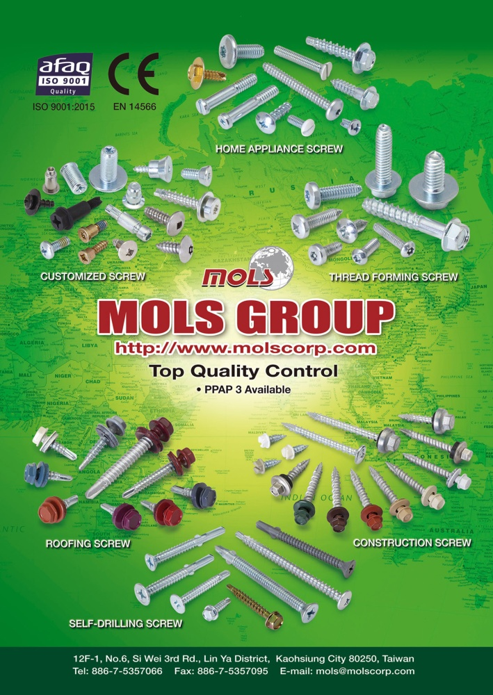 Taiwan Industrial Suppliers MOLS CORPORATION