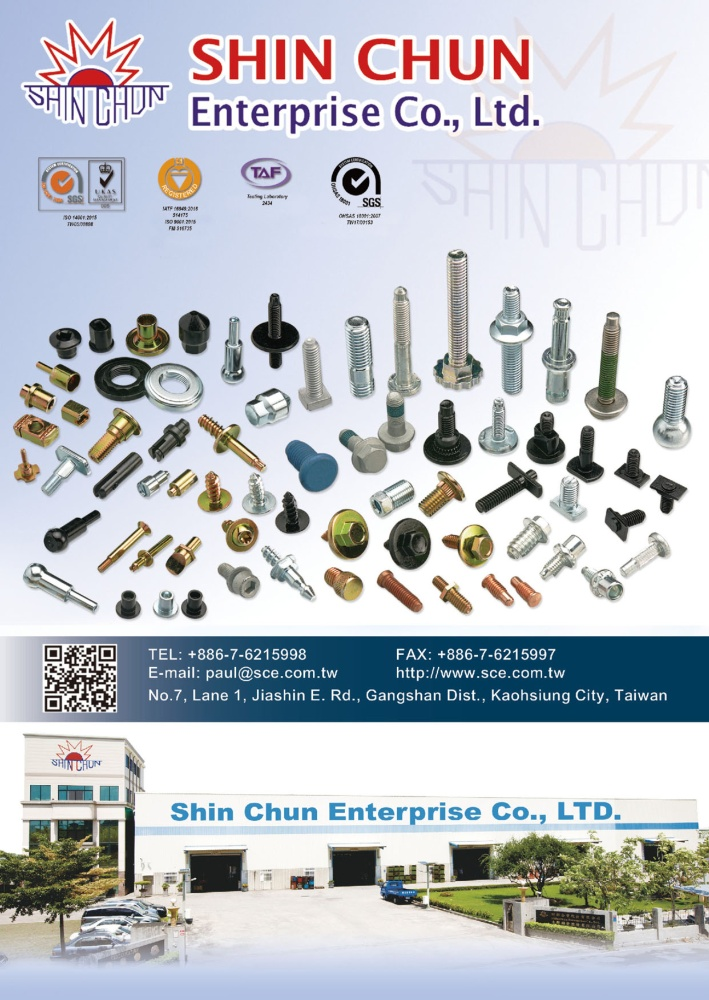 Taiwan Industrial Suppliers SHIN CHUN ENTERPRISE CO., LTD.