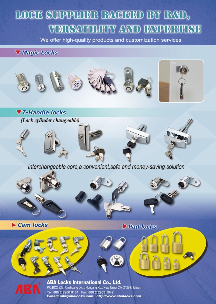 ABA LOCKS INTERNATIONAL CO., LTD.