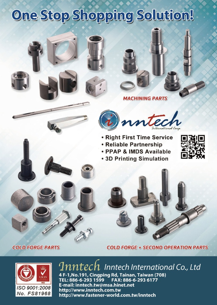 INNTECH INTERNATIONAL CO., LTD.