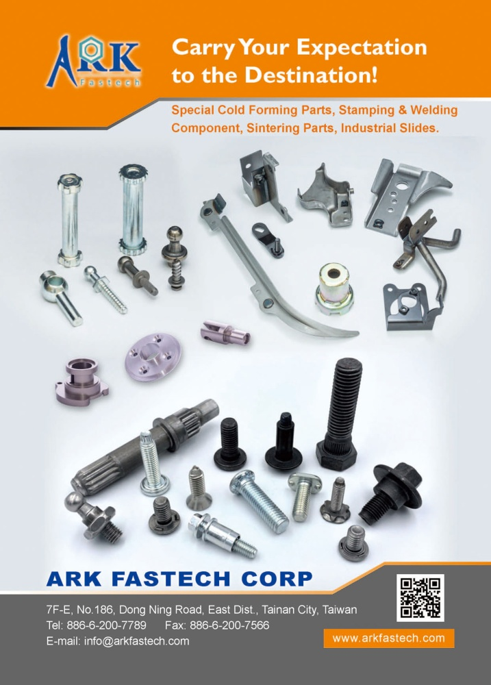 Taiwan Industrial Suppliers ARK FASTECH CORP.