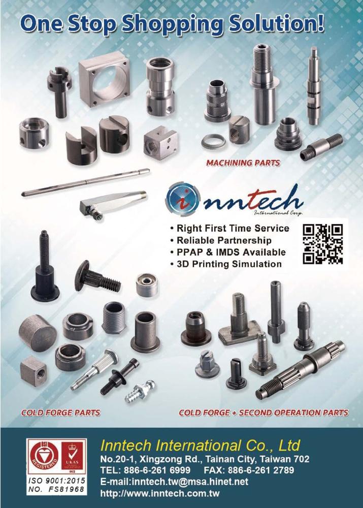 Taiwan Industrial Suppliers INNTECH INTERNATIONAL CO., LTD.