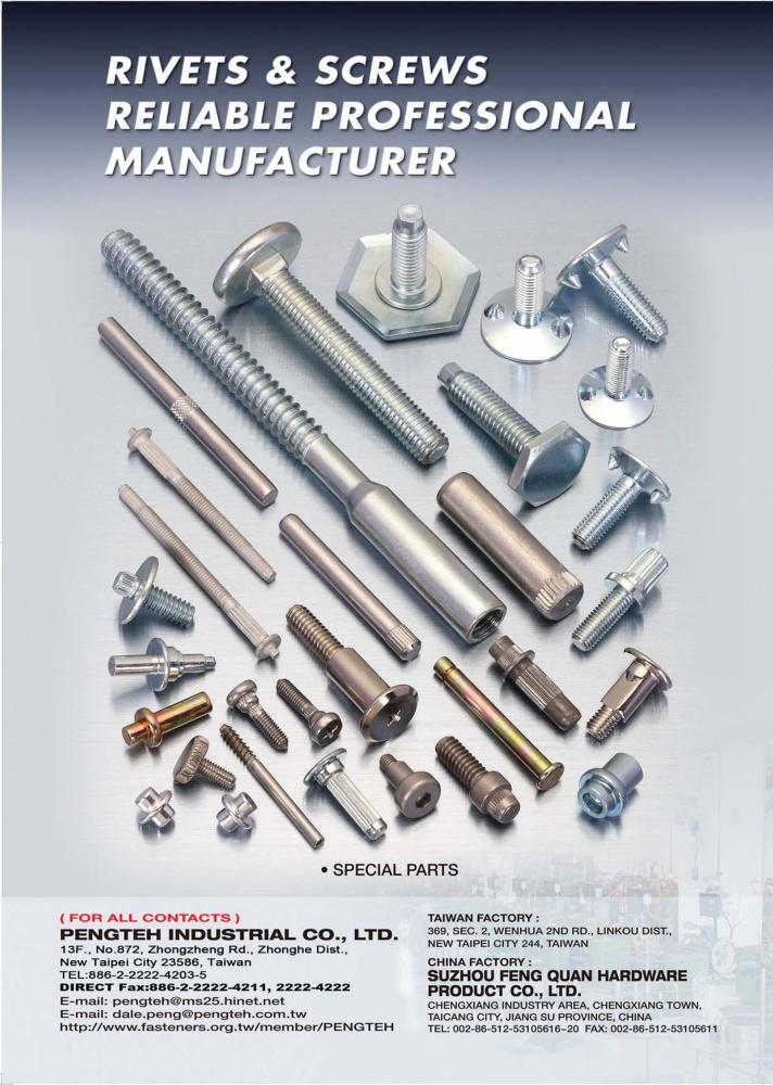 Taiwan Industrial Suppliers PENGTEH INDUSTRIAL CO., LTD.