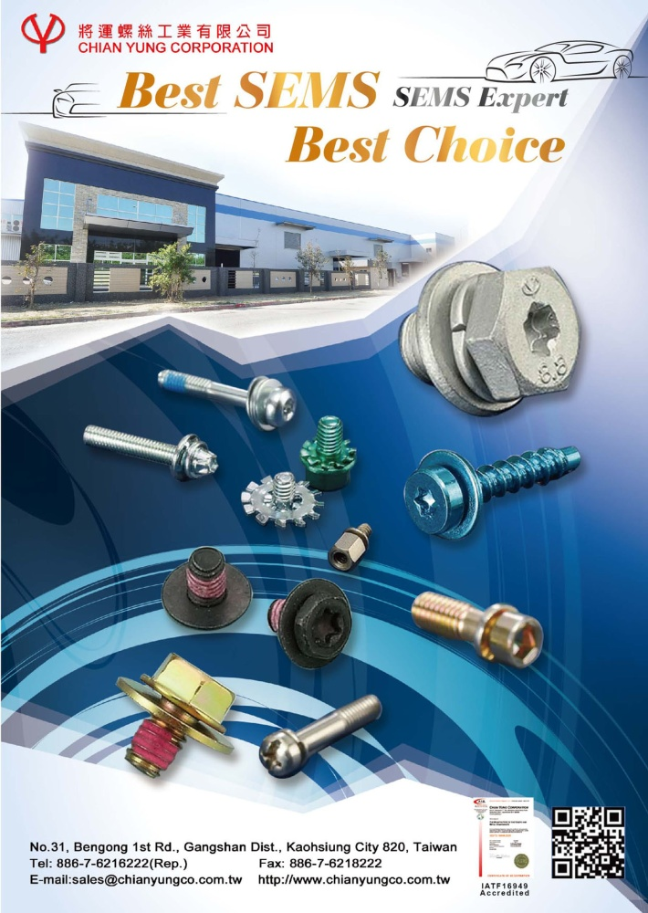 Taiwan Industrial Suppliers CHIAN YUNG CORPORATION