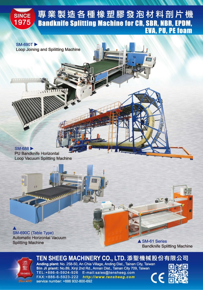 Middle East & Central Asia Special TEN SHEEG MACHINERY CO., LTD.