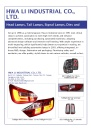 Cens.com Auto Parts E-Magazine AD HWA LI INDUSTRIAL CO., LTD.