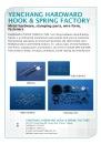 Cens.com Fastener E-Magazine AD YENCHANG HARDWARD HOOK & SPRING FACTORY