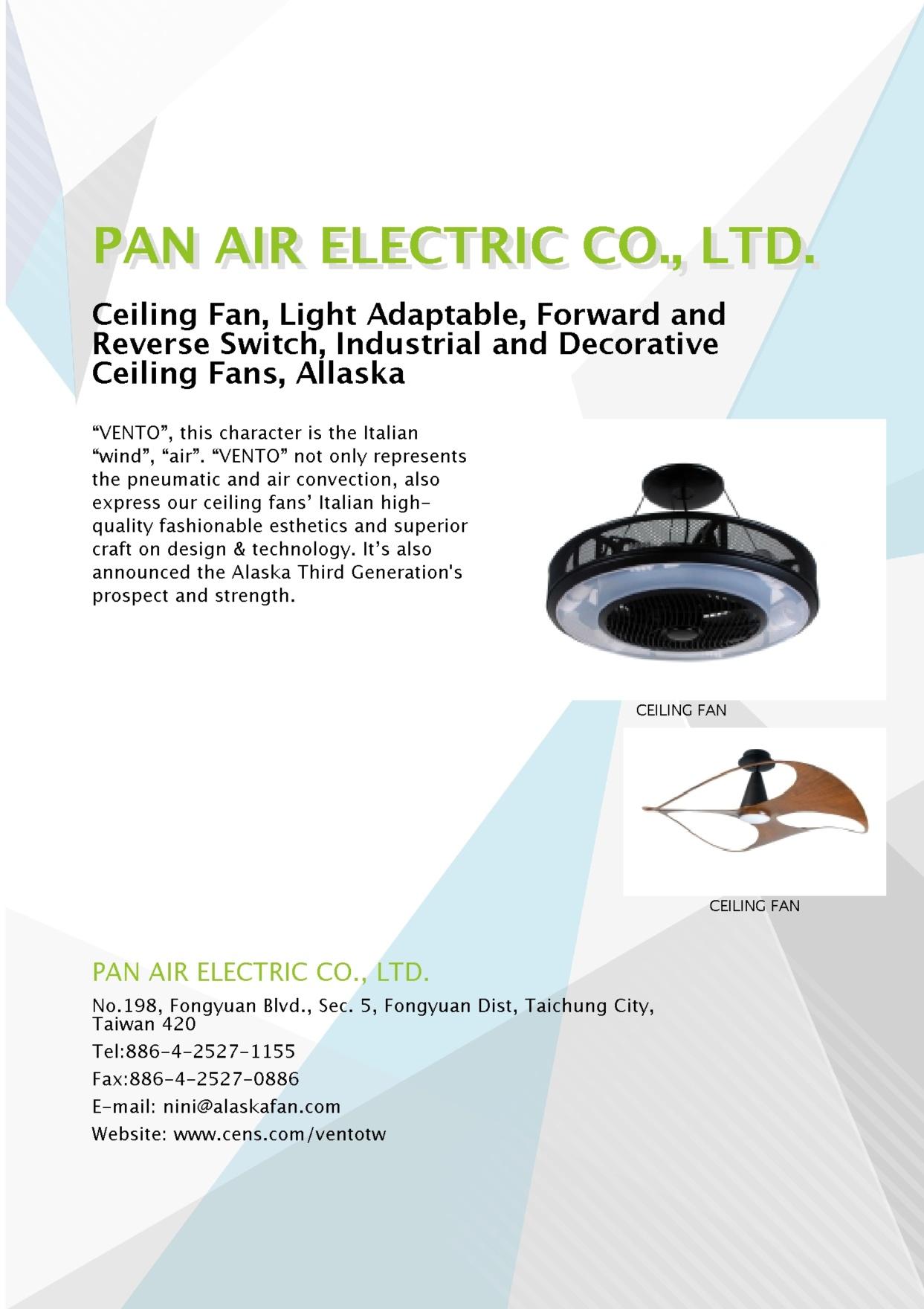 PAN AIR ELECTRIC CO., LTD.