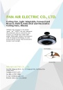 Cens.com Lighting E-Magazine AD PAN AIR ELECTRIC CO., LTD.
