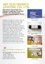 Cens.com Lighting E-Magazine AD ART ELECTRONICS LIGHTING CO., LTD.