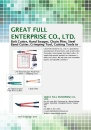 Cens.com Handtools E-Magazine AD GREAT FULL ENTERPRISE CO., LTD.