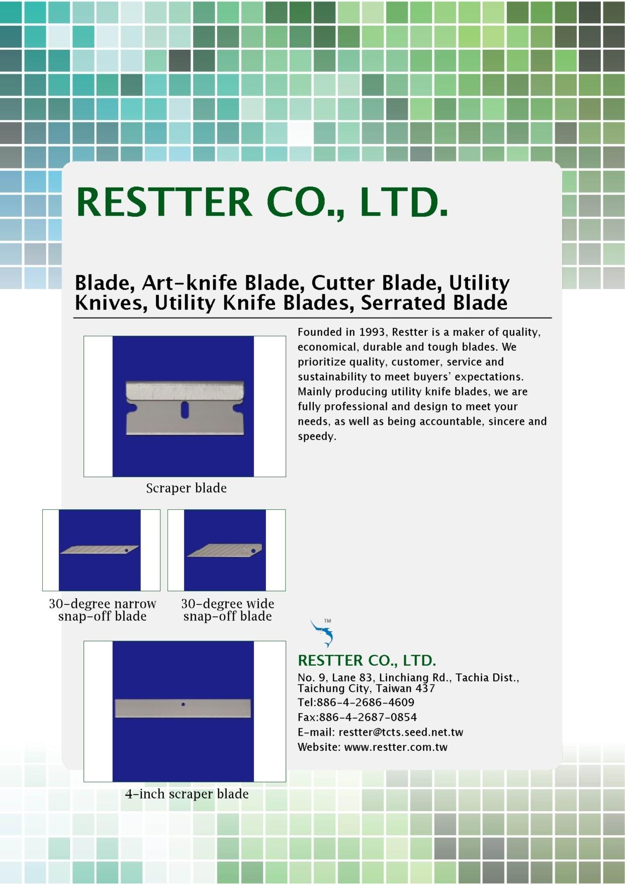 RESTTER CO., LTD.