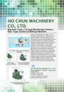 Cens.com Machinery E-Magazine AD HO CHUN MACHINERY CO., LTD.