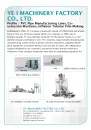 Cens.com Machinery E-Magazine AD YE I MACHINERY FACTORY CO., LTD.