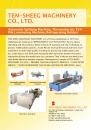 Cens.com Machinery E-Magazine AD TEN SHEEG MACHINERY CO., LTD.