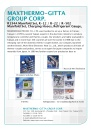 Cens.com Machinery E-Magazine AD MAXTHERMO-GITTA GROUP CORP.