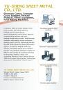 Electronics & Computers E-Magazine YU-SHENG SHEET METAL CO., LTD.